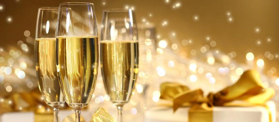 Champagne celebration bande
