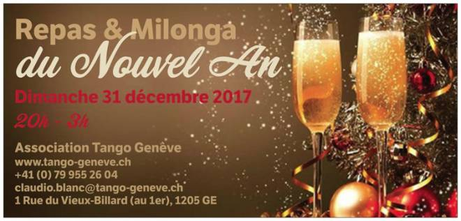 Flyer du Nouvel An 2017